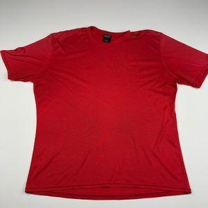 Patagonia Capilene Red Short Sleeved T-Shirt XL